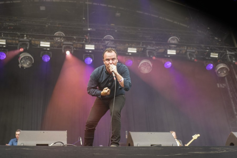 Future Islands live auf dem Best Kept Secret Festival 2018