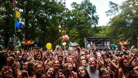 Crowd bei von wegen Lisbeth auf dem Appletree Garden Festival
