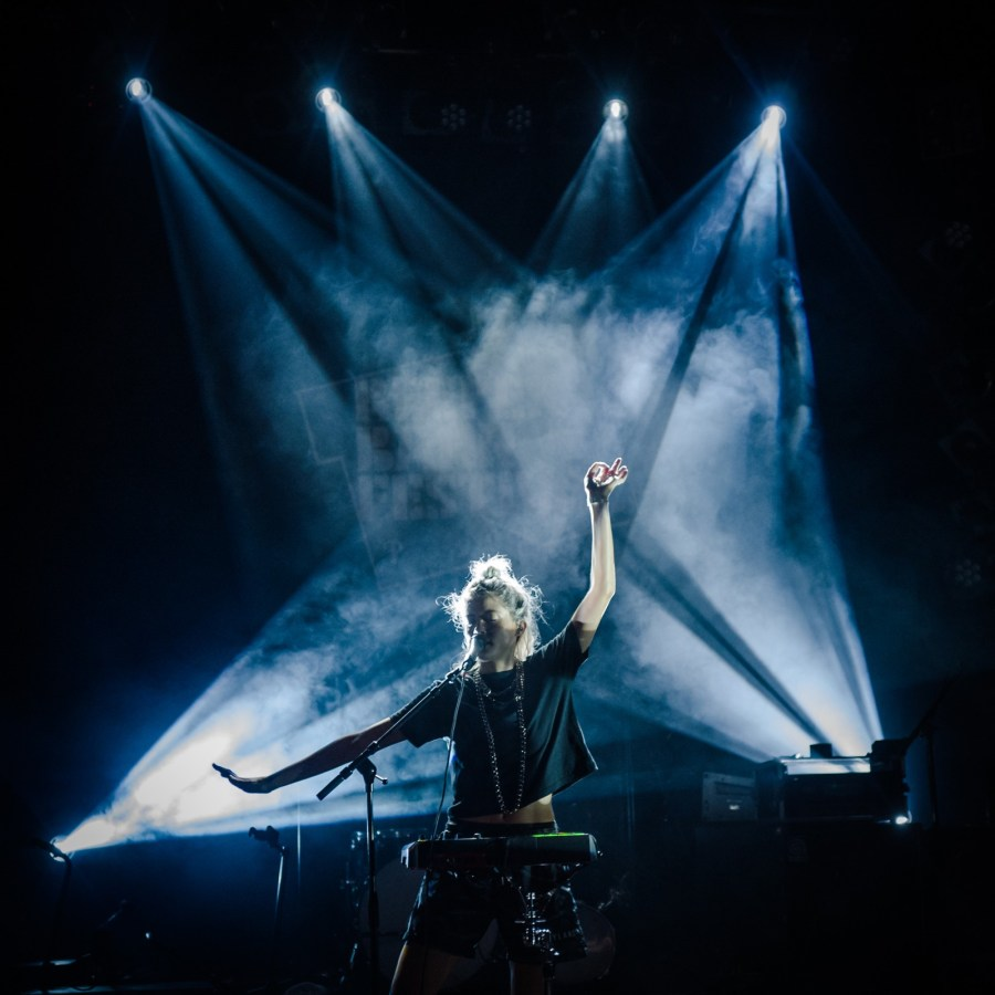 Noga Erez live auf dem Reeperbahn Festival 2018