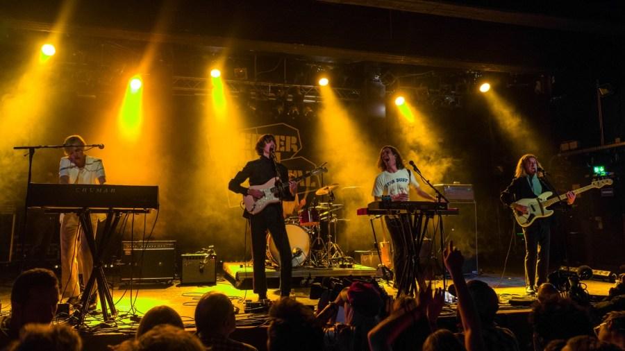 Parcels live auf dem Reeperbahn Festival 2018