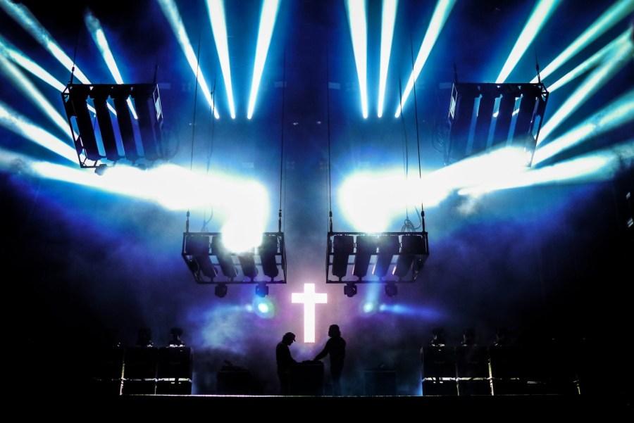Justice live auf dem Hurricane Festival 2018