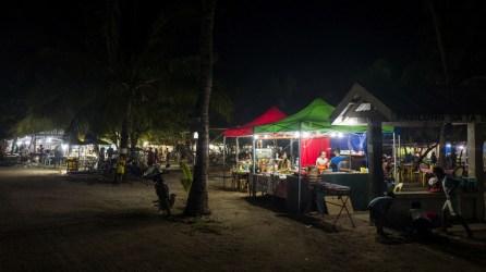 Marktplatz in Malapascua