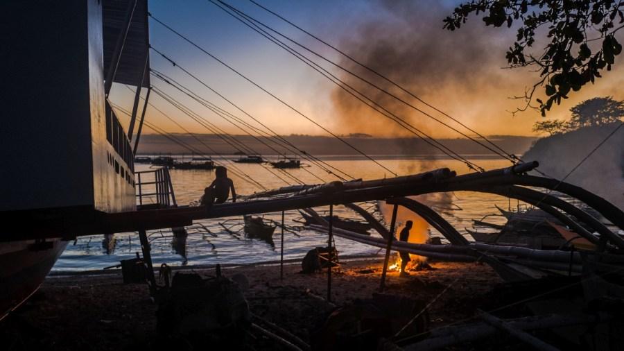Sonnenuntergang in Malapascua