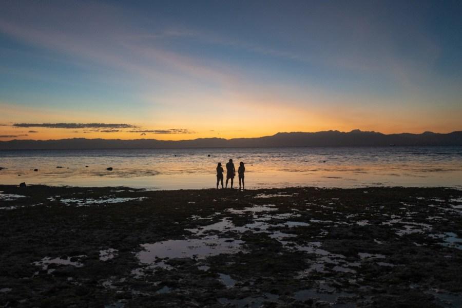 Sonnenuntergang in Moalboal