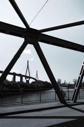 Köhlbrandbrücke.
