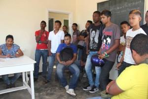 Studenten van Saramacca