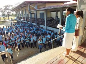 Muloschool in Nickerie