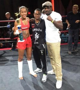 Chavella Lee wint in New York