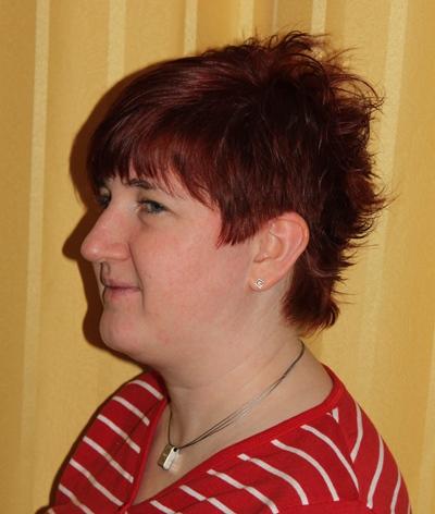 Katjas neuer Haarschnitt (29. Geburtstag)