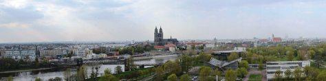 Panorama Magdeburg