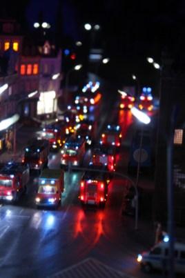 Miniaturwelt - Feuerwehreinsatz