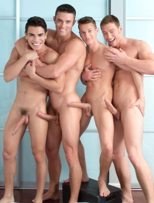 gay bi party
