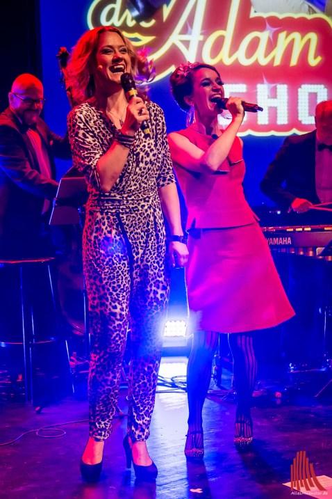 Im Duett machen Lisa Feller und Tina Werzinger nicht nur eine gute Figur. (Foto: th)