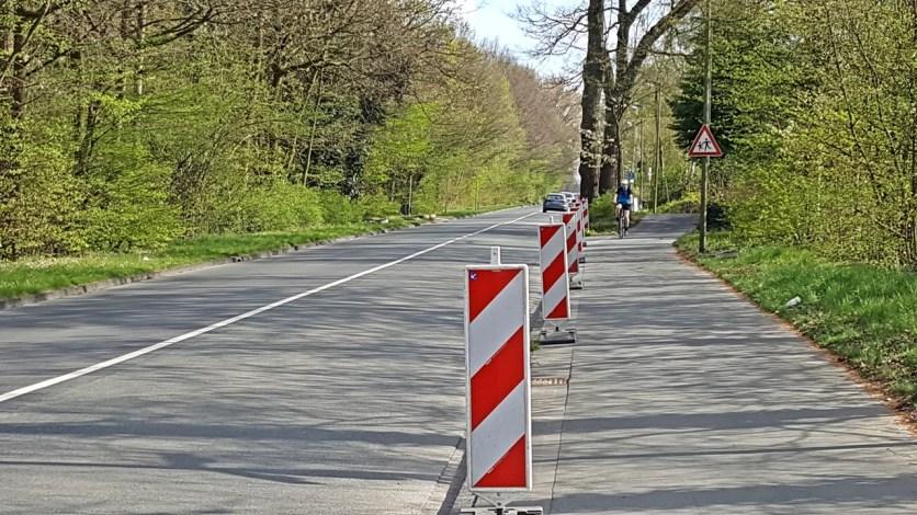 Kanalstraße (hier Blickrichtung stadteinwärts) (Foto: so)