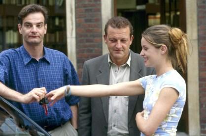 Heinrich Schafmeister (li.) in seiner Rolle als Manni stieg in Folge 15 aus und hat seitdem nur noch Gastauftritte. (Foto: ZDF / Martin Lässig)