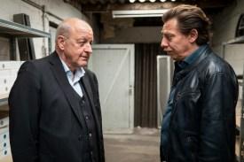 "Wilsberg und ""Ugly Joe"". (Foto: ZDF / Thomas Kost)"