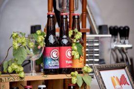 Auf dem Fest stellten insgesamt acht Brauereien aus der Euregio ihre Biere vor. (Foto: Michal Bührke)