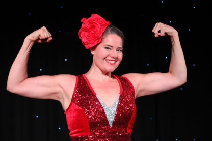 Betty Brawn: Strong Lady-Show. (Foto: GOP)