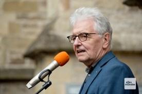 Christoph Strässer sprach als Präsident des SC Preussen Münster.