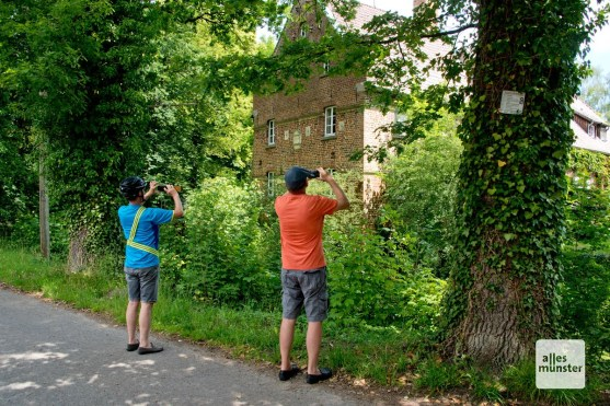 Haus Langen ist ein beliebstes Ausflugziel bei Radfahrern.