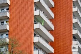 Coerde hat nicht nur Hochhäuser. Aber auch. (Foto: Bührke)