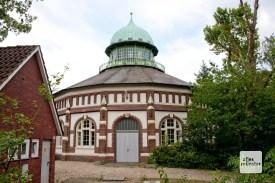 Das historische Wasserwerk in der Hohen Ward. (Foto: Michael Bührke)