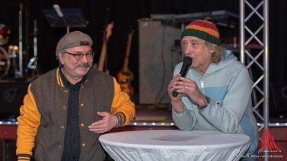 Marius Münster und Steffi Stephan führten als Gastgeber durch den Abend. (Foto: Thomas M. Weber /webrock-Foto)