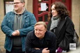 Björn Meyer, Axel Prahl und Mechthilg Großmann (v.l.)