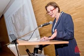 Eva Luise Köhler war Ehrengast des Festaktes. (Foto: Michael Bührke)