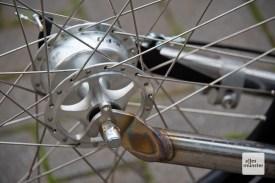 Der Roller wurde von den Startup-Gründern komplett selber konstruiert, gebaut wird er in Tschechien. (Foto: Michael Bührke)