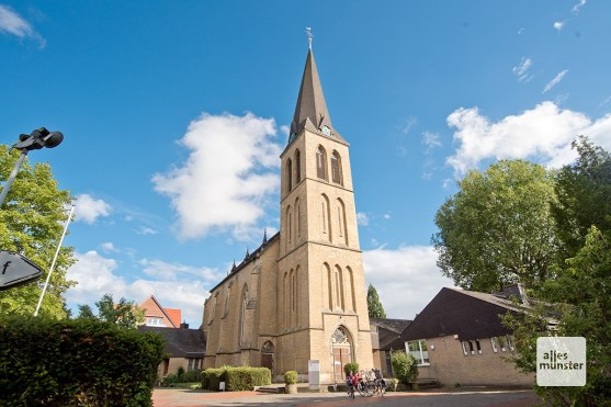 Die Kirche St. Ludgerus in Albachten (Foto: Bührke)