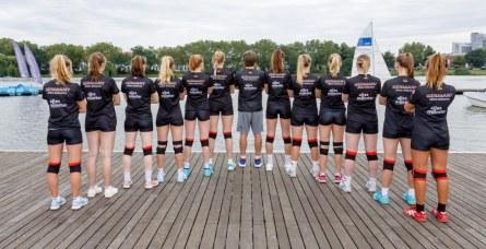 Das Volleyball-Team der WWU Münster. (Foto: Jörg Papke)
