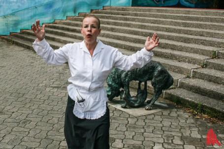 Cornelia Kabbaj alias Edelgart lobt die stets gute Organisation des Festivals. (Foto: na)