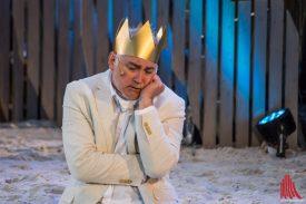 Jürgen Lorenzen als Alonso, König von Neapel (Foto: Thomas Hölscher)