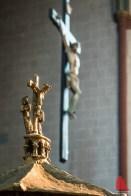 Im Inneren der Überwasserkirche. (Foto: wf / Weber)