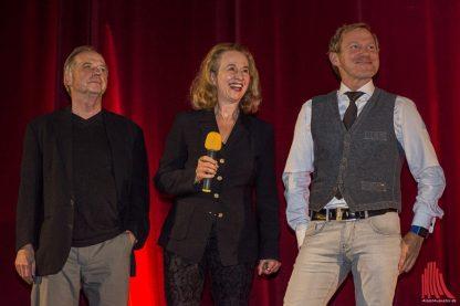 Michael Kausch. Klara Höfels und Roland Jankowsky. (Foto: Thomas Hölscher)