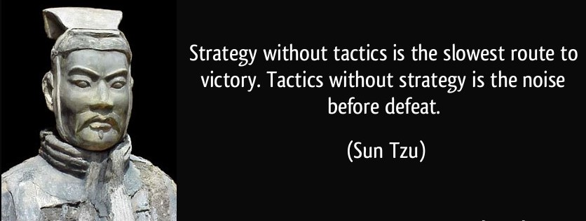 sun tzu - strategy without tactics