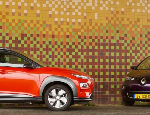 Hyundai Kona Electric versus Renault Zoe