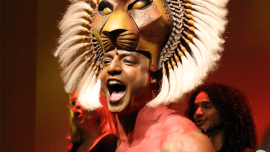 The Lion King in het AFAS Circustheater in Scheveningen.
