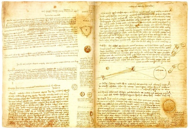 Codex Leicester - TOP 10 MOST EXPENSIVE BOOKS EVER SOLD AT AUCTION