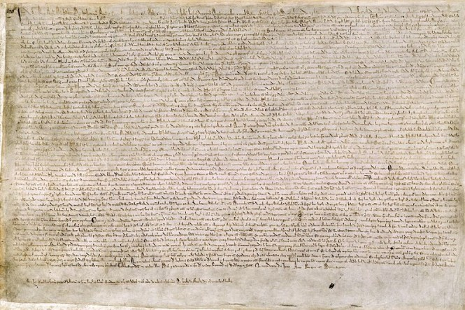 Magna Carta - TOP 10 MOST EXPENSIVE BOOKS EVER SOLD AT AUCTION