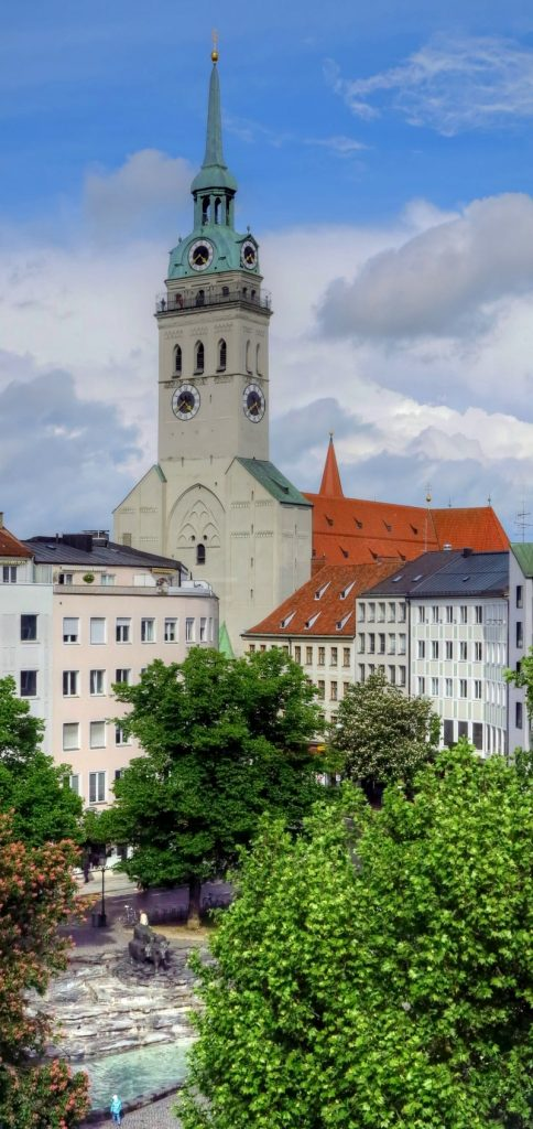 Sint Petruskerk 484x1024 - TOP 10 ATTRACTIONS AND THINGS TO DO IN MUNICH GERMANY
