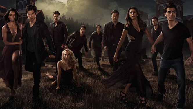 The Vampire Diaries - TOP 100 BEST AND MOST POPULAR SERIES ON NETFLIX