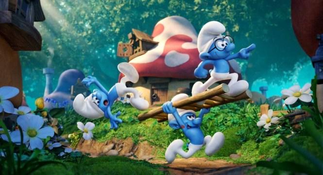 smurfs the lost village - TOP 10 BEST CHILDREN'S CINEMA MOVIES 2017