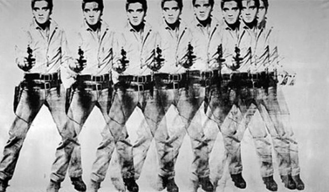 Eight Elvises - TOP 10 MOST FAMOUS WORKS BY ANDY WARHOL