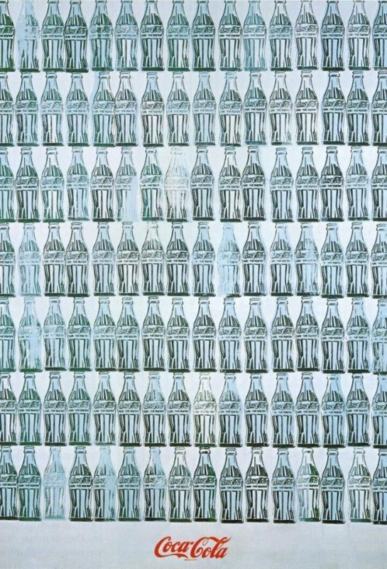 Green Coca Cola Bottles - TOP 10 MOST FAMOUS WORKS BY ANDY WARHOL