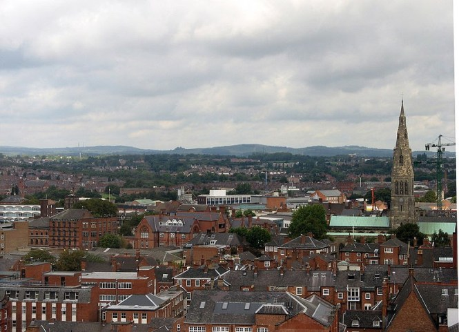 Leicester - TOP 10 LARGEST CITIES IN THE UNITED KINGDOM , ENGLAND MEASURED BY THE MOST POPULATION
