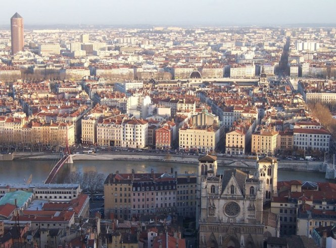 Lyon - TOP 10 LARGEST CITIES IN FRANCE MEASURED BY POPULATION