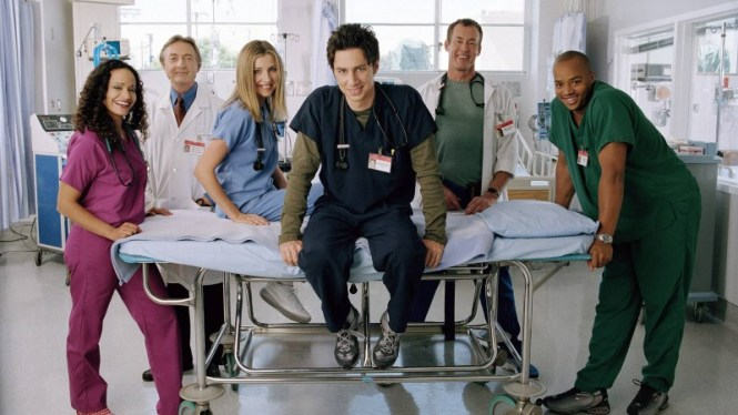 Scrubs - TOP 10 BEST AMERICAN SITCOMS EVER