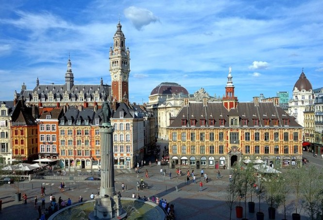 lille - TOP 10 LARGEST CITIES IN FRANCE MEASURED BY POPULATION